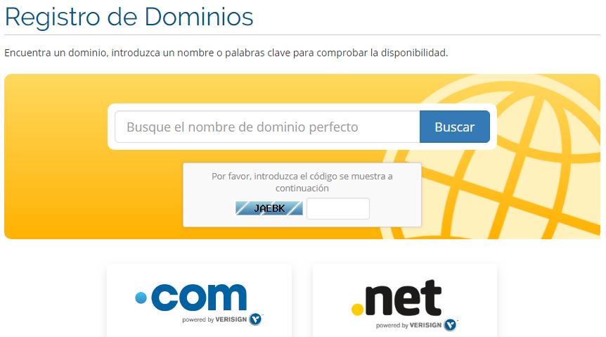 Cuidado al comprar nombres de dominio